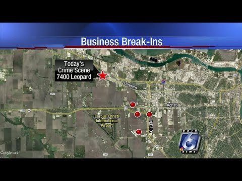 Crime trend: Break ins continue at businesses in Westside industrial area