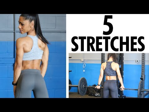 TOP 5 Glute Muscles Stretches