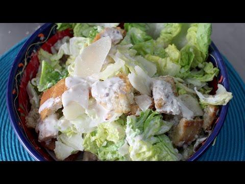 Caesar Salad and Dressing Recipe
