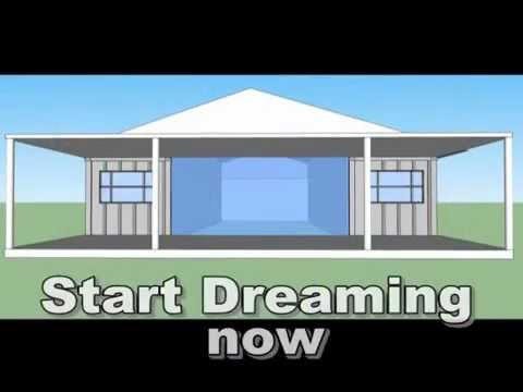 Save on building cost - build your Own Container Home quick and easy!!