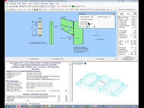 Portal Frame Analysis & Design
