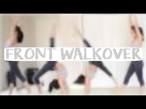 How to do a Front Walkover
