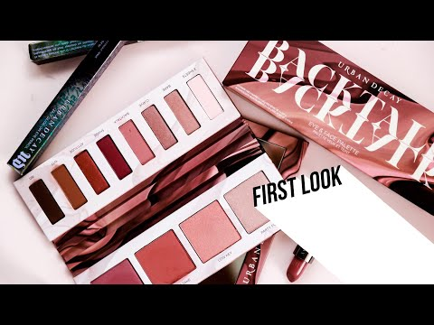 FIRST LOOK:THE NEW URBAN DECAY BACKTALK PALETTE!