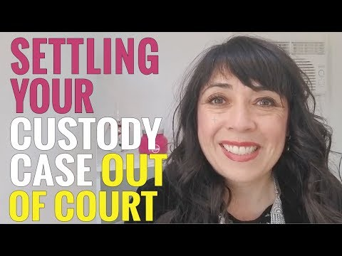 Settling Your Custody Case Outside of the Courtroom
