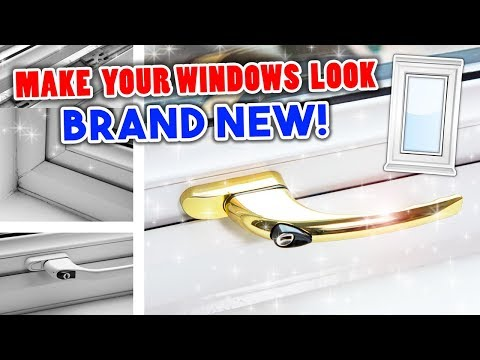 How to clean UPVC windows - PLUS Seal & Handle Replacement - Easy DIY