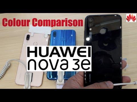 Huawei Nova 3e / P20 Lite Color Comparison: Which one will you choose ?