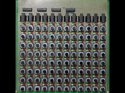 FAKE Launchpad Making Flim / DIY 64-Step MIDI Sequencer