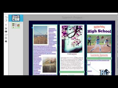 How to Use Lucidpress to Make a Pamphlet or Brochure
