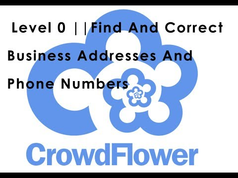 Level 0 || 8 Cents || Find and Correct Business Address and Phone Numbers