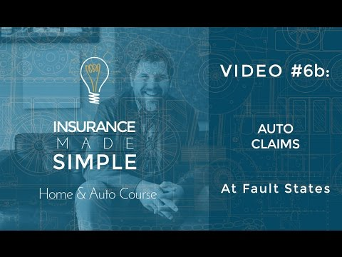 Auto Insurance Claims – At Fault States