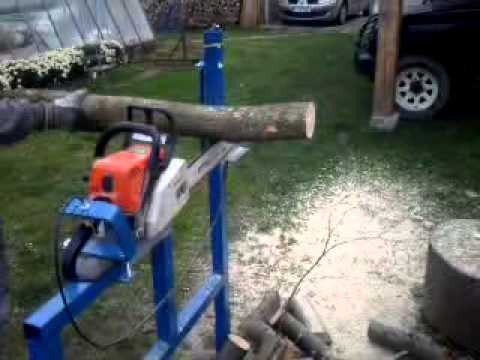 Homemade Log Wood Holder for Chainsaw Log Saw Bench Log Saw Saw Horse & Log Holder