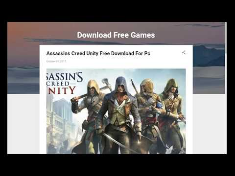 How to download Assassin's Creed Unity for Pc free