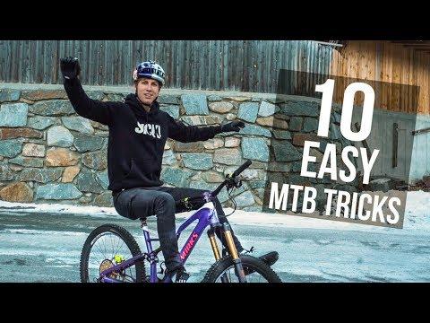 10 Easy MTB Tricks with Fabio Wibmer