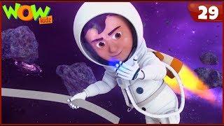 New Cartoon Show | Chacha Bhatija | Wow Kidz | Hindi Cartoons For Kids | Khoji Ka Satellite