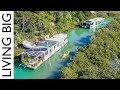 Island Living In An Off-The-Grid House Boat mp3