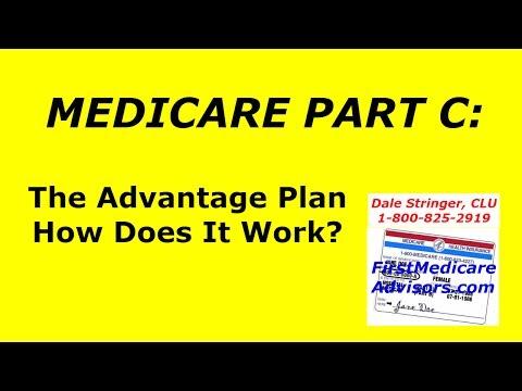 MEDICARE PART C - The Advantage Plan  & How Does It Work?