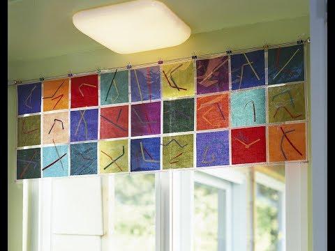 Window Valance Ideas | Modern window valance ideas