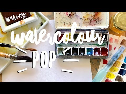 Making your watercolors POP ~ WATERCOLOUR by Scarlett Damen