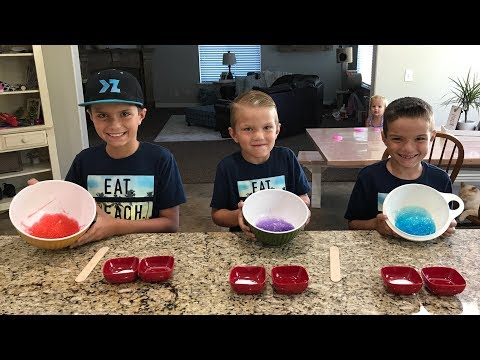 HOW TO MAKE SLIME USING THREE SIMPLE INGREDIENTS FOUND IN YOUR HOME!