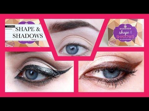 Strikeapose essence shape & shadows eye contouring palette tutorial!