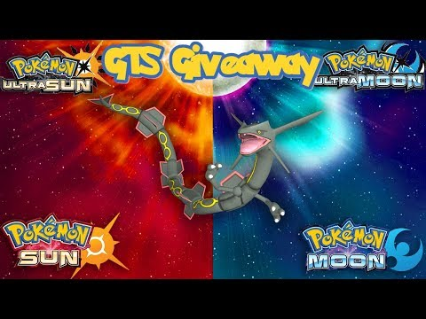 Pokémon SUN & MOON/ULTRA GTS GIVEAWAY |  | SPECIAL GEN 5 EVENT | V-CREATE RAYQUAZA