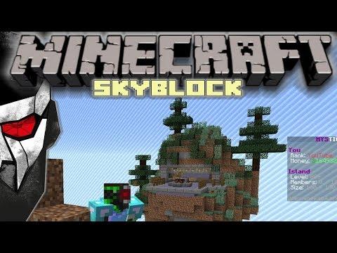 Minecraft Skyblock - Terraforming A Sky Island! #12