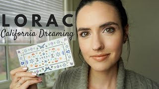 LORAC California Dreaming Palette | Swatches, Review + Tutorial