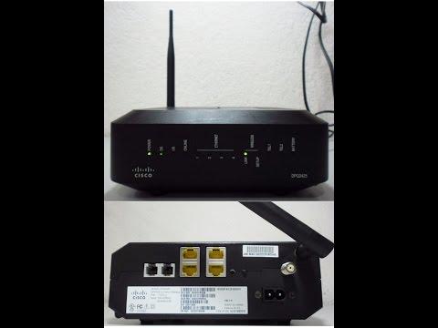 Como Configurar un Router Cisco DPQ2425 Claro 2017