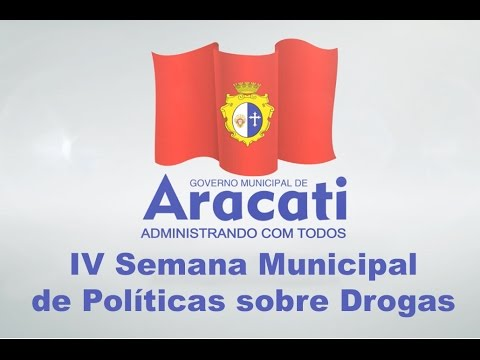 IV Semana Municipal de Políticas sobre Drogas (Vídeo)