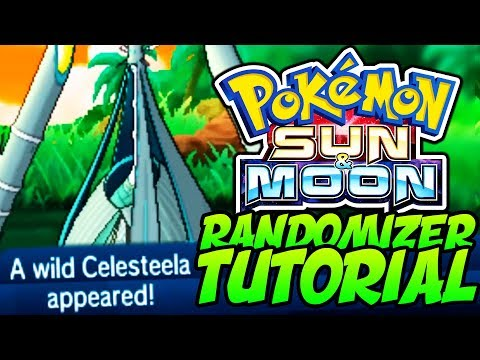 How to RANDOMIZE Pokémon Sun and Moon! Gen 7 RANDOMIZER Tutorial!