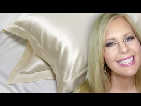 Silk Pillowcases, Your Best Bet For Smooth Hair & Skin (or: Beauty Sleep)