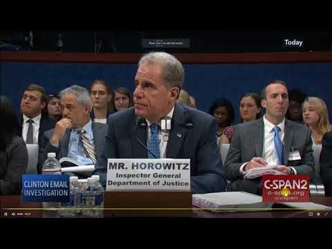 PART II: House Hearing on Inspector General Report (MYE)