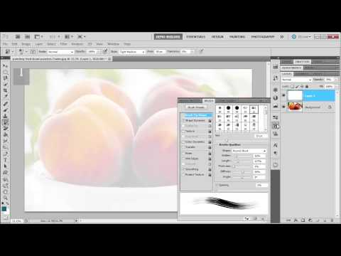 Learn how to paint in Photoshop CS5 with the Art History Brush