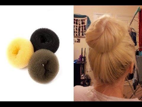Unique 'Twist' Hair Donut Bun Tutorial | Tips For Fine Hair