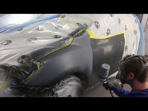 Car Painting - Toyota Grey Metallic Blend