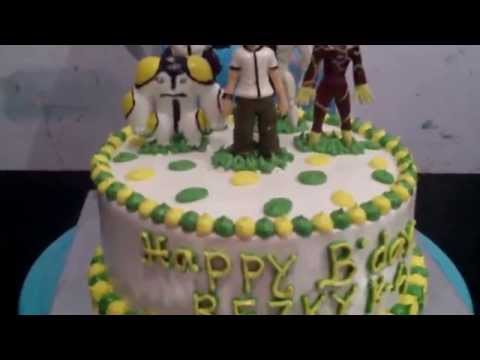 How to Easy Decorate Ben 10 Cake Theme