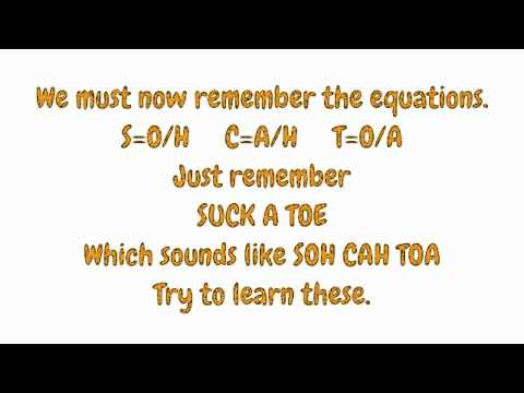 How-To - Maths - Trigonometry in Right-Angled Triangles