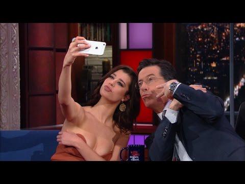 Sarah McDaniel Gives Stephen A Selfie Lesson