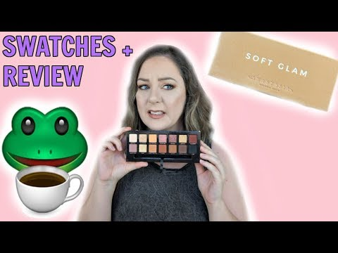 ABH Soft Glam Review + Eye Swatches | MakeupByMegB