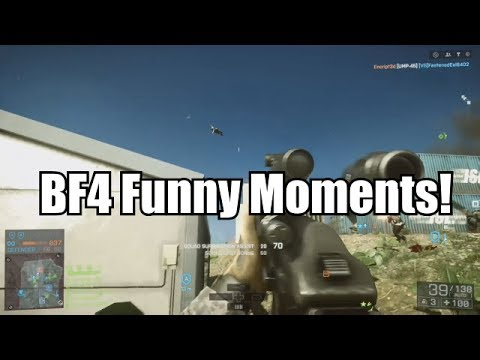 Battlefield 4 Funny Moments - Funny Moments In BF4 - Short Video - HD