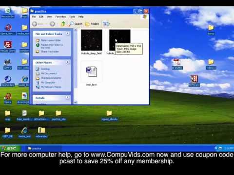Windows XP - How Zip and Unzip Files