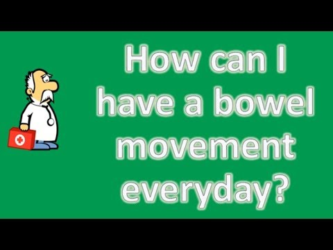 How can I have a bowel movement everyday ? | Better Health Channel