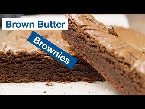 How To Make Brown Butter Brownies Recipe || Le Gourmet TV Recipes
