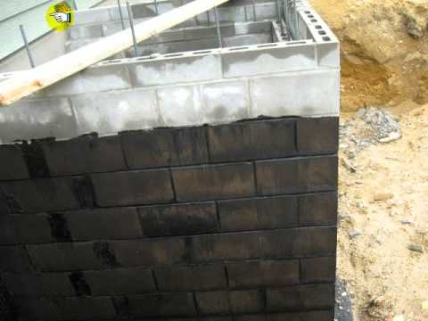Dampproofing Foundation Walls