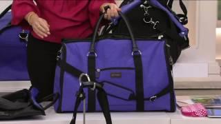 Biaggi 2-in-1 Garment Bag & Tote or Duffle By Lori Greiner on QVC