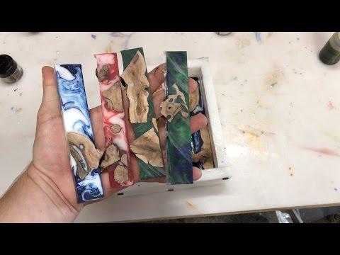 Using Alumilite Cut Offs To Cast Pen Blanks
