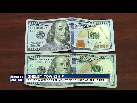 Police warn of fake money being used as real cash