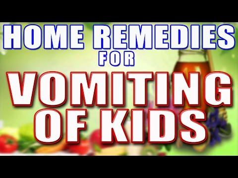 HOME REMEDY FOR VOMITING OF KIDS II बच्चों में उल्टी की समस्या का उपचार II