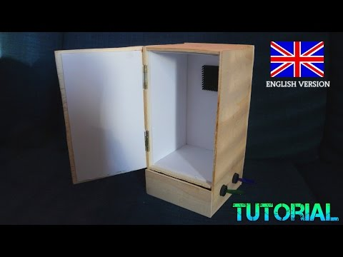 Mini Fridge selfmade Tutorial with Peltier Module DIY Fridge or heater Peltier Element Tutorial