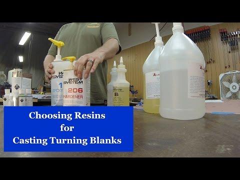 Choosing Casting Resins